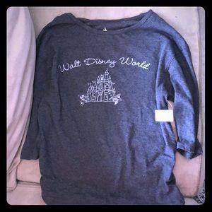 Walt Disney World heather gray t-shirt Small